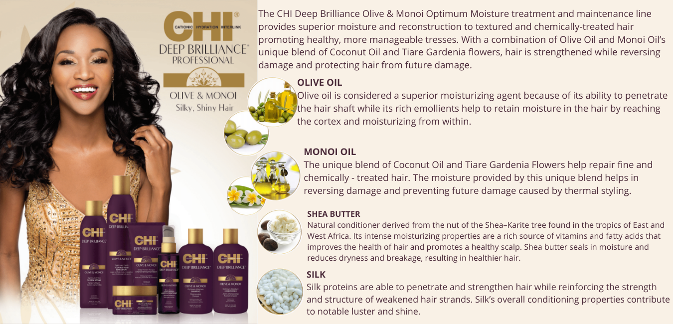 A system for all hair types that allows you to create multiple styles withoutstanding style memory, making hair more healthy and manageable.Provides moisture and strength by interlocking moisture and strengthin (5)
