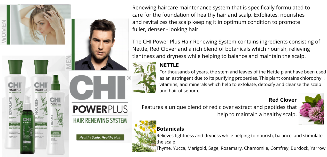 A system for all hair types that allows you to create multiple styles withoutstanding style memory, making hair more healthy and manageable.Provides moisture and strength by interlocking moisture and strengthin (8)